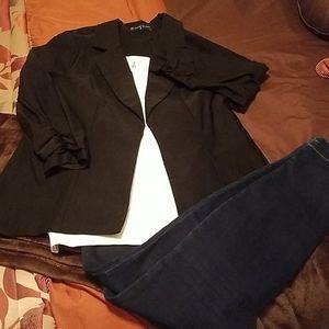 A chic blazer with great stretch!